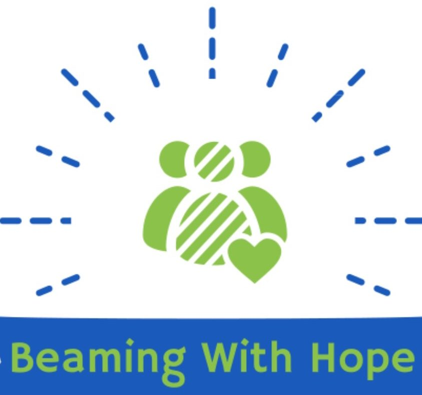 Beaming with hope